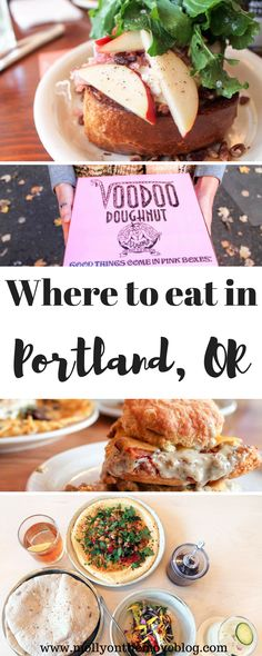 Portland, OR, is a major city for foodie's. With new places popping up every week, it is hard to know which to prioritize! Click the pin for where to eat in Portland, OR