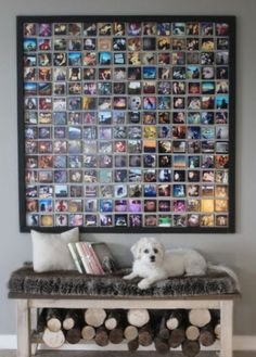 Do it yourself kitchen wall decor - kitchen art, paintings, wall plaques Instagram Wand, Instagram Frame, Polaroid Wall, Polaroid Ideas, Beautiful Houses Interior, Photo Wall Collage, Picture Collages, Picture Frames, Jolie Photo