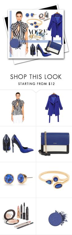 """""""Blue my style"""" by albat0ul ❤ liked on Polyvore featuring Zuhair Murad, Lust For Life, DKNY, Kate Spade, Blue, polyvoreeditorial and polyvorefashion"""