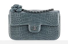 Chanel-Shiny-Alligator-Flap-Bag-with-Camellia