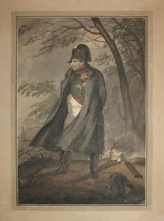 Portrait of Napoleon I by Charlet