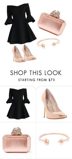"""""""Untitled #1"""" by lejlaam95 ❤ liked on Polyvore featuring Chicwish, Dune and Jimmy Choo"""