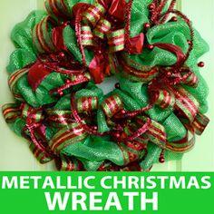 Flannel Rag Wreath