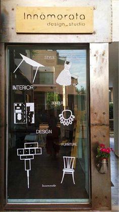 Window display of innomorata design studio