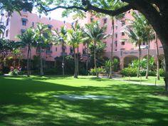 Royal Hawaiian Hotel ロイヤルハワイアン・ホテル
