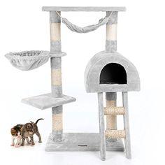 Happypet® CAT018-2 Cat Scratcher Cat Tree Activity Centre Scratching Post medium-sized Grey Happypet® http://www.amazon.co.uk/dp/B00B4TIFEO/ref=cm_sw_r_pi_dp_vgHDub1RZZ755