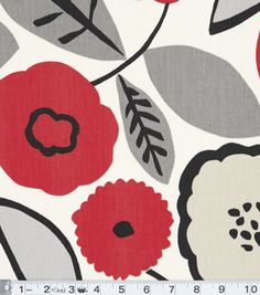 Home Decor Print Fabric- Modern Essentials Bethel Metro