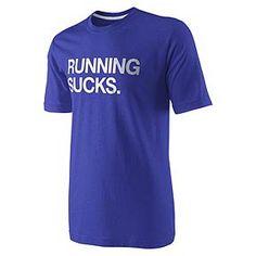 running sucks.    i think i should wear this for my half marathon!!! hahaha