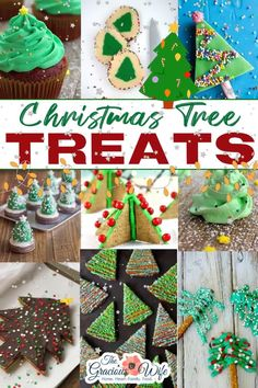 Nothing is more fun than Christmas trees during the holidays! Have your Christmas tree and eat it too with these beautiful and fun Christmas Tree Treats! Christmas trees are probably one of the most fun parts about Christmas. I love decorating the tree and watching the lights twinkle. | The Gracious Wife @thegraciouswife #christmastreats #christmastree #christmaspartyfood #christmassnack #christmasdessert #christmasrecipes #christmasdesserts #thegraciouswife Christmas Party Food, Cool Christmas Trees, Magical Christmas, Christmas Desserts, Holiday Treats, Christmas Treats, Christmas Cookies, Christmas Recipes, Holiday Recipes
