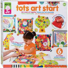 art set for 2 year old