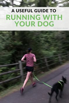 From diet to gear to safety, this quick guide for running with your dog will keep both you and your four-legged running buddy happy.