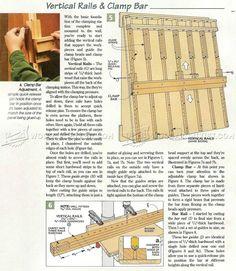 #2840 DIY Wall Mounted Panel Glue Up Press - Panel Glue Ups