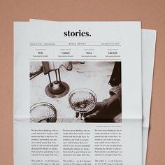 Stories Studio Design Studio ✨ – Design is art Page Layout Design, Web Design, Magazine Layout Design, Book Design, Print Design, Editorial Design Magazine, Magazine Layouts, Design Trends, Graphic Design Typography