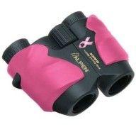 Alpen Pink Binoculars