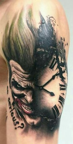 Joker-coringa-tattoo