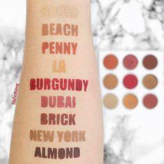 """Kylie Cosmetics (@kyliecosmetics) on Instagram: """"Burgundy shades 👀😍 @ellieteemakeup #BurgundyPalette"""""""