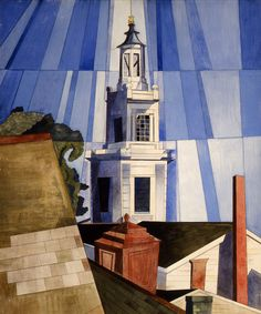 Charles Demuth, The Tower, 1920 - Columbus Museum of Arts and Crafts