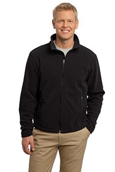 Port Authority Mens Tall Value Fleece Jacket 2XLT Black ** For more information, visit image link. (This is an affiliate link)