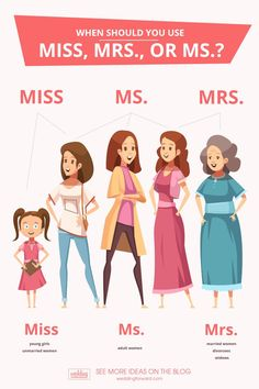 Mrs vs Ms is a constant debate at work, marriage, and everyday life. What's the difference and correct usage? Read this post to know when to use Ms vs Mrs! English Idioms, English Phrases, Learn English Words, English Study, English Lessons, English Time, English Learning Spoken, Teaching English Grammar, English Writing Skills