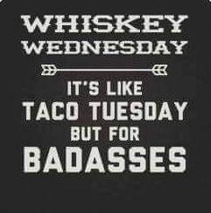Whiskey Wednesday...enjoy your drink