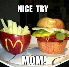 Fun foods made by #mom #aprilfools