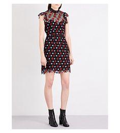 SANDRO - Flava lace dress   Selfridges.com