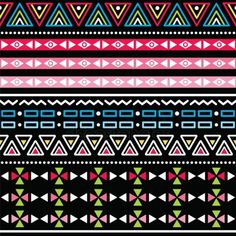 Illustration about Vector seamless aztec ornament, ethnic pattern with ombre effect on black background. Illustration of illustration, ancient, culture - 30721269 Aztec Background, Free Background Images, Seamless Background, Cool Wallpapers For Phones, Cute Wallpaper Backgrounds, Black Backgrounds, Phone Wallpapers, Aztec Tribal Patterns, Ethnic Patterns