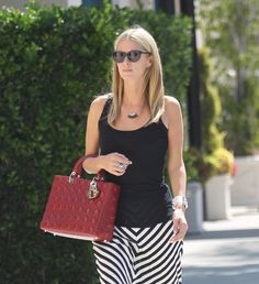 Nicky Hilton and her Dior Lady Dior Bag