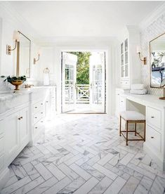 Kleine badezimmer design Good White Clean Ideas For Master Bathroom Vanity Career Apparel: Dress for Master Bathroom Vanity, Best Bathroom Vanities, Master Bathrooms, Small Bathrooms, Dream Bathrooms, White Bathrooms, Luxury Bathrooms, Bathroom Mirrors, Bathroom Cabinets