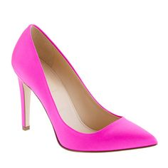 Everly satin pumps