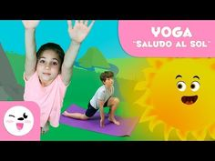 Educational and fun video where your child can practice the Sun Salutation with our Yoga for kids activity. The purpose of this video is to teach your child . Yoga Salutation Au Soleil, Chico Yoga, Videos Yoga, Baby Yoga, Summer Reading Program, Child Smile, Yoga For Kids, Yoga Sequences, Stories For Kids