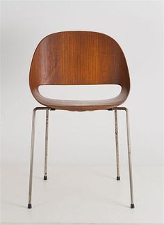 Léon Stynen Plywood chair 1960s, made by Sope Oy, Lahti, Finland | Lot 116C188  Auction 116C