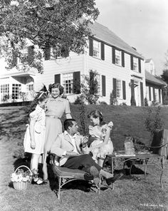 Mr. Blandings Builds His Dream Home...unfortunately I grew up watching this movie at least once a week against my will. I now love it and appreciate in accordance with my parents' wishes....:P