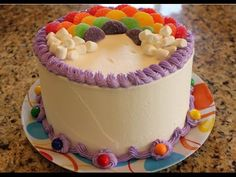 Decorate a Rainbow Birthday Cake in Minutes!