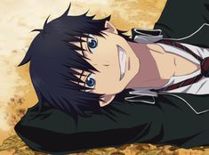 Rin Okumura, Dear God if I find someone that looks and acts like him.....