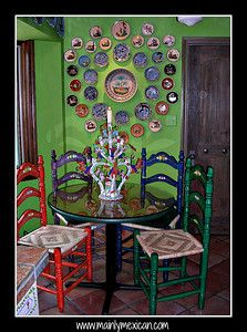 mexican painted furnitureMexican Painted Furniture  Que Chula Style  MEXICAN DECOR