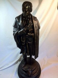 BronzeStatue Rare R 8,299 Sir Walter Scott
