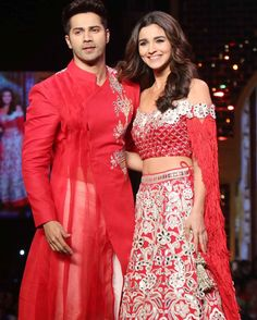 I am looking for this lehenga same design specialy sleves that Alia Bhatt wore on the ramp at the Abu Jani & Sandeep Khoslas fashion show for CPAA - 23281 - SeenIt Bollywood Images, Bollywood Couples, Bollywood Stars, Bollywood Celebrities, Indian Bollywood Actress, Bollywood Fashion, Indian Wedding Clothes For Men, Alia Bhatt Varun Dhawan, Alia Bhatt Cute