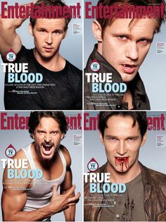 A real vampire show! with the best looking guys EVER!