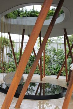 'Sacred Grove' by Gavin McWilliam and Andrew Wilson for the Singapore Garden Festival 2014