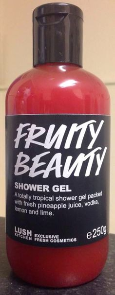 LUSH Cosmetics Fruit Beauty Shower Gel - RARE! UK EXCLUSIVE! 250g (Medium Sized) $30 Shipped