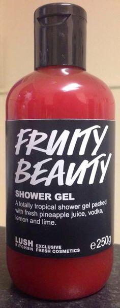 LUSH Cosmetics Fruit Beauty Shower Gel - RARE! UK EXCLUSIVE! 250g (Medium Sized) $30 Shipped