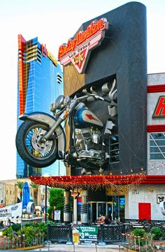 Harley Davidson Las Vegas Cafe. by roig61, via Flickr