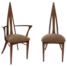 1stdibs.com | A Set of Italian 1960's Chairs/2 Arm 4 Side