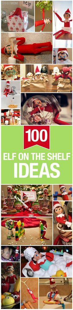 Elf On The Shelf Ideas Here are some of the greatest elf on the shelf ideas for you to try!Here are some of the greatest elf on the shelf ideas for you to try! Winter Christmas, All Things Christmas, Christmas Holidays, Christmas Crafts, Christmas Decorations, Xmas Elf, Christmas Bows, Elf On The Self, The Elf