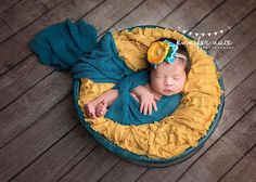 gorgeous teal and yellow