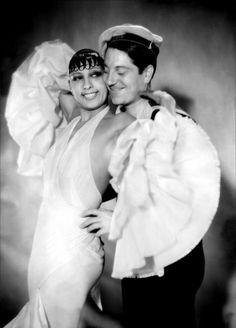 Josephine Baker & Jean Gabin from Zouzou (1934)