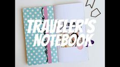 Scrapbooking no Traveler's Notebook #1