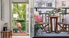 Tips... Detalles para un pequeño balcón.