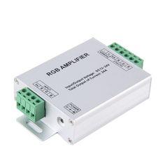 1Pcs LED RGB Amplifier 24A LED Controller DC12-24V for 5050 3528 RGB LED Strip Light Top Quality Wholesale Dropshipping #Affiliate